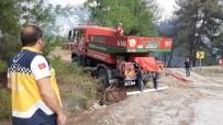 ORMAN İŞÇİSİ - Osmaniye'de Orman Yangını