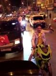 (Özel) İstanbul'da Asker Eğlencelerinde Magandalar Trafikte Havaya Ateş Açtı
