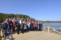 'Sağlıklı Kentler' Toplantısından Sonra Sandıklı'nın Tarihi Ve Turistik Yerleri Gezildi