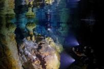 KÜRESEL İKLİM DEĞİŞİKLİĞİ - Şahika Ercümen Dünya Rekoru İçin Gilindire Mağarası'na Dalıyor