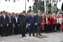 SÜLEYMAN SEBA - Beşiktaş'ta Cumhuriyet Bayramı Kutlamaları Resmi Törenle Başladı