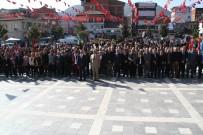 Devrek'te Cumhuriyet Bayramı Nedeniyle Çelenk Sunum Töreni Gerçekleştirildi