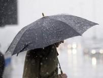 MARMARA BÖLGESI - Hava durumu: Meteorolojiden sağanak ve sis uyarısı