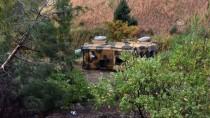 Kahramanmaraş'ta Zırhlı Askeri Araç Devrildi Açıklaması 4 Yaralı