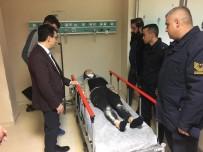 Kaymakam Kaplay Yaralı Öğrencileri Hastanede Ziyaret Etti