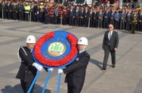 Kırıkkale'de, 29 Ekim Kutlamaları Çelenk Sunma Töreni İle Başladı