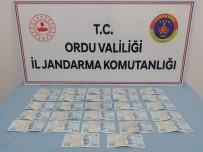 Ordu'da 2 Bin 700 Liralık Sahte Banknot Ele Geçirildi