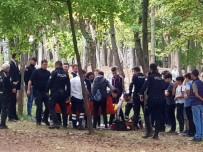 Ormanlık Alanda Öğrenciler Arasında Bıçaklı Kavga
