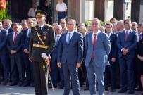 Sinop'ta Cumhuriyet Bayramı, Çelenk Töreniyle Başladı