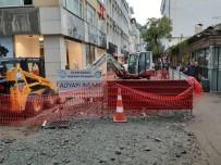 Sırrı Paşa Caddesi'ne 25 Yıl Sonra İlk Kazma