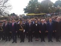 Tekirdağ'da Atatürk Anıtı'na Çelenk Sunuldu