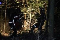 TEM Otoyolu'nda Minibüs Bariyerleri Aşıp Şarampole Yuvarlandı Açıklaması 1 Yaralı