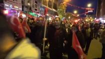 İZMIR MARŞı - Ardahan'da Meşaleli Cumhuriyet Yürüyüşü