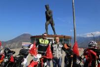 Artvin Motosiklet Kulübü Üyeleri Ata'nın Huzurunda