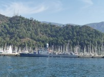 AKSAZ DENIZ ÜSSÜ - Askeri Gemiler 29 Ekim'de Vatandaşlara Kapılarını Açtı