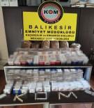 Balıkesir Polisinden Kaçak Sigara Ve İçki Operasyonu
