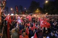 Beşiktaş'ta Cumhuriyet'in 96'Incı Yılı Coşkuyla Kutlandı