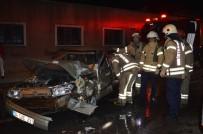 Beyoğlu'nda Halk Otobüsü İle Otomobil Çarpıştı Açıklaması 1 Yaralı