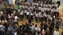 İZMIR MARŞı - Denizli'de Lise Öğrencilerinden 'Cumhuriyet' Konseri
