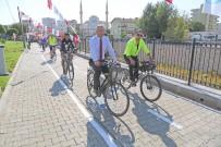 BİSİKLET YOLU - Mezitli'de1 Kilometrelik Bisiklet Ve Yürüyüş Yolu Açıldı