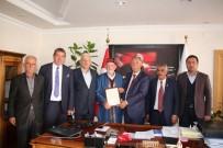 Ruhsar Pekcan - Ahilik Beratını Oltu Belediyesi'nde Verdi