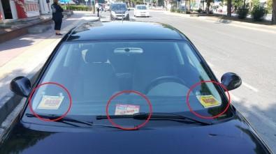 Aracında 4 Farklı Sahte Basın Kartı Olan Sürücü Gözaltına Alındı