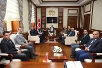 AKSAKAL - Bayburt Üniversitesi Heyeti Vali Cüneyt Epcim'i Ziyaret Etti