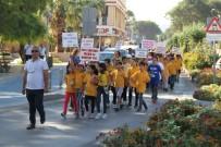 ULUSAL EGEMENLIK - Dünya Yürüyüş Günü Milas'ta Kutlandı