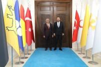 Milletvekili Zülfü Ağar'dan Başkan Güder'e Ziyaret