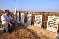 Suriye'den Atılan Havan Topuyla Hayatını Kaybedenler Mezarları Başında Anıldı