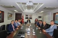 Türkiye Kamu-Sen'den Vali Pehlivan Ve Emniyet Müdürü Başbuğ'a Ziyaret