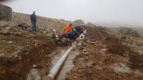 3 Bin 500 Rakımlı Berçelan Yaylası'nda İçme Suyu Çalışması