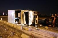 Kahramanmaraş'ta Feci Kaza Açıklaması 3 Yaralı