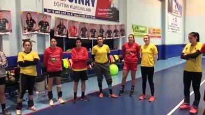 Kastamonu Belediyespor'da EHF Kupası Mesaisi Başladı