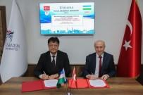 KBÜ İle Özbekistan Fergana Devlet Üniversitesi Arasında İş Birliği
