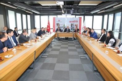 Özbekistan İnşaat Bakanlığı Heyeti'nden AGÜ'ye Ziyaret