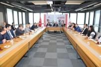 ABDULLAH GÜL - Özbekistan İnşaat Bakanlığı Heyeti'nden AGÜ'ye Ziyaret