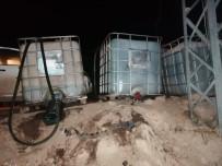 Sarıkamış'ta Akaryakıt Çalan 4 Kişi Suçüstü Yakalandı