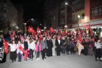 Sungurlu' Da Büyük Cumhuriyet Yürüyüşü