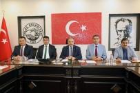 ÖZGÜR ÖZDEMİR - Talas'taki KASKİ Yatırımları Görüşüldü