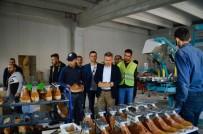 NAHÇıVAN - Ağrı'da Yapımı Tamamlanan KOBİ Merkezinde Üretim Başladı