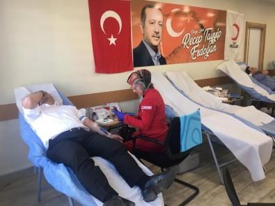 Ak Parti Erzurum İl Başkanlığı'ndan Kan Bağışı Kampanyası