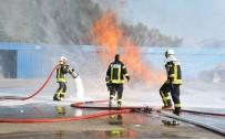 AOSB'de Yangın Tatbikatı