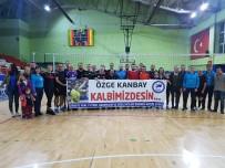 Artvin'de Kansere Set Çek Turnuvasında Özge Kanbay Afişiyle Maça Çıktılar