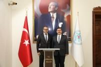 Azerbaycan Ankara Büyükelçisi Hazar İbrahim Erzincan'da