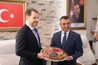İSTİŞARE TOPLANTISI - Bakan Albayrak'tan AK Parti'ye Ziyaret