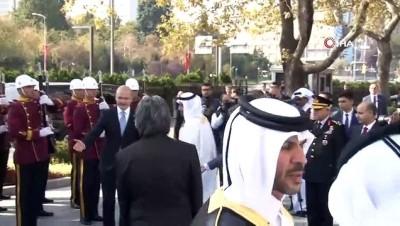 Bakan Soylu, Katar Başbakanı Al Sani İle Görüştü