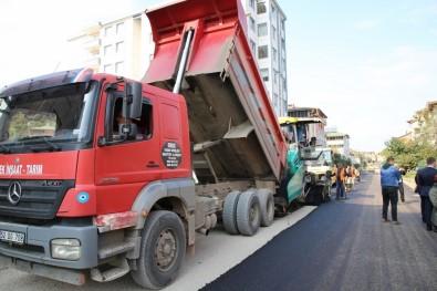 Fatsa'nın En Büyük Caddesi Asfaltlandı