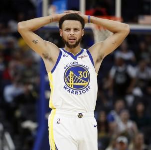 Golden State Warriors'ta Stephen Curry Şoku
