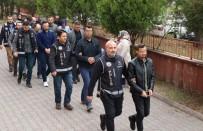 Karabük Merkezli 3 İlde FETÖ Operasyonu Açıklaması 4'Ü Aktif 5 Polis Adliyede